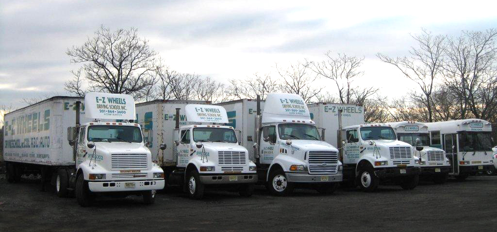 Cdl training ez wheels driving school new jersey for Nj motor vehicle point reduction course