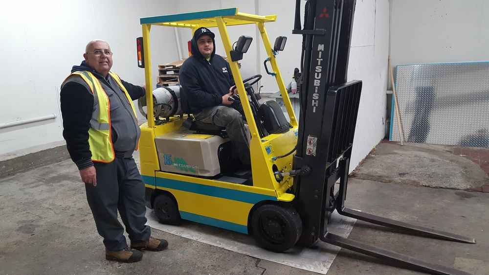 Forklift certification training for the forklift operator osha for Nj motor vehicle point reduction course