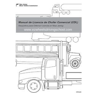 NJ CDL Manual Spanish Edition