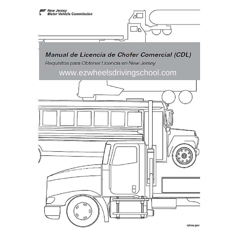 nj commercial driver license manual spanish edition