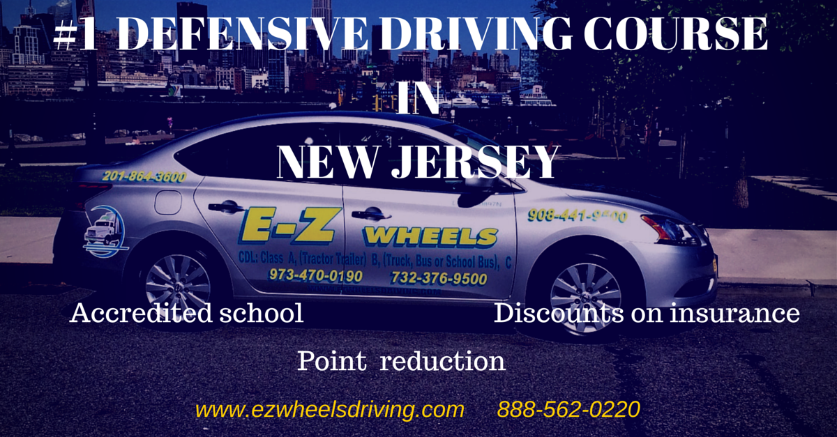 Defensive Driving Course Insurance Reduction Program NJ