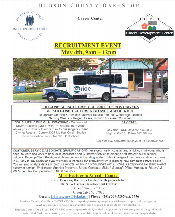 ez wheels job placement program