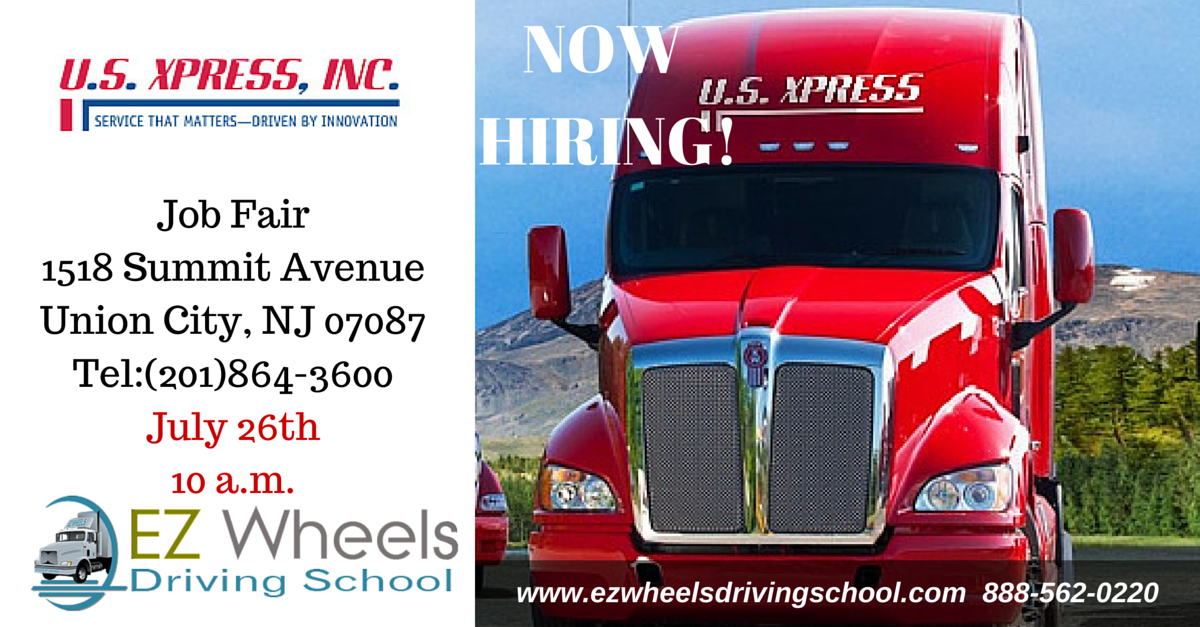 Now Hiring Truck Drivers Union City NJ July 26th 2016