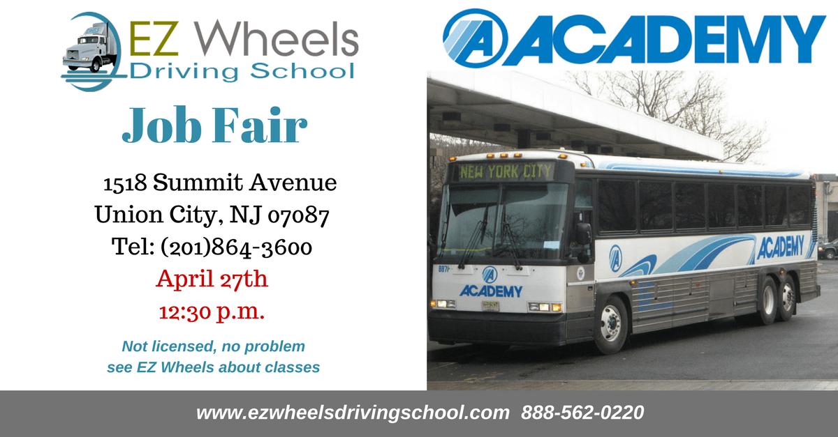 Job Fair Academy Bus Company