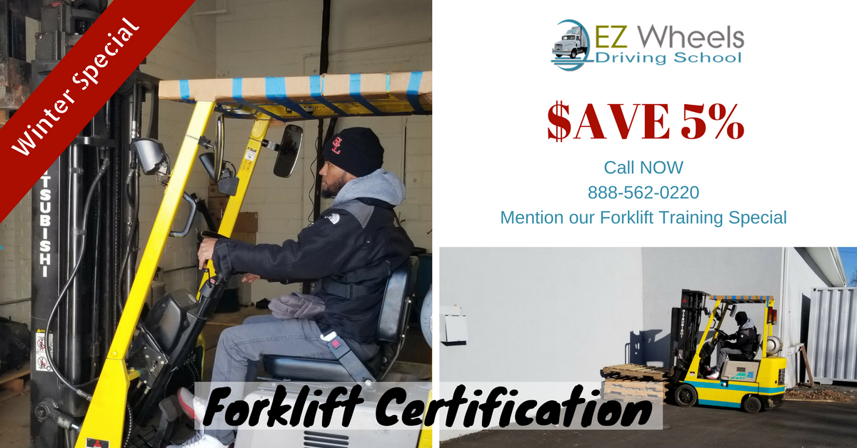 Morris County Forklift Certification Open House