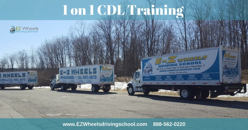 CDL Training in NJ for Tractor Trailer, Straight Truck and Bus